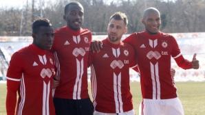 ЦСКА-София се разделя с национал на Конго