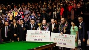 """Голяма промяна в правилото за """"уайлд кард"""" на China Championship 2017"""