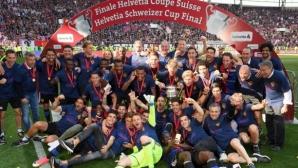 Базел спечели за 12-и път Купата на Швейцария