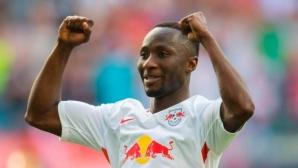 Ливърпул чупи трансферния си рекорд за звезда на РБ (Лайпциг)