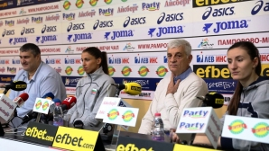Волейболистките мотивирани да спечелят световната квалификация (видео + галерия)