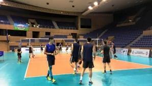 Китай с първа тренировка във Варна