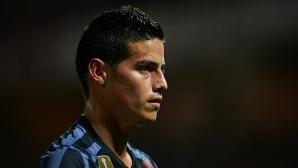 Интер атакува с 42 млн. за Хамес