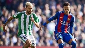 Бетис ще вземе само 9 млн. евро при трансфер на Себайос