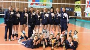 Левски спечели шампионската титла при момичетата до 15 години