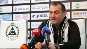 Заги уверен: Славия ще се спаси, ще остана за дълго начело на тима