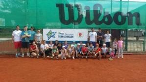 Тодор Енев изнесе лекция на тенис турнир за деца в Троян