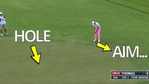 Този голф удар взриви интернет (видео)