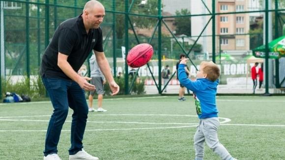 """Деца и родители се забавляваха и спортуваха заедно на """"Татко и аз 2017"""""""