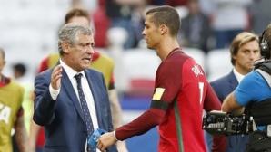 Сантош: Ще има ротации, но няма да ви кажа дали Кристиано ще играе
