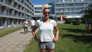 Голямата звезда на руската водна топка на лагер в Кранево