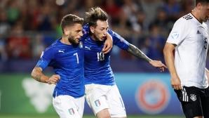 Бернардески класира Италия на 1/2-финал на Европейското до 21 години