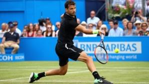 Григор Димитров: Пробата за кокаин на Еванс е тъжна новина за тениса