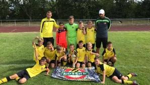 Децата на Ботев Пд втори на силен турнир в Германия, зад тях остана Ювентус