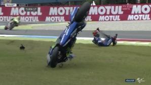 Винялес си взел урок от катастрофата, която му коства лидерството в MotoGP