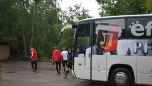 Буря провали тренировка на Локо (Пловдив)