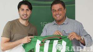 Освободен от ЦСКА-София подписа с унгарски гранд