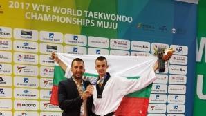 Владимир Далаклиев с исторически бронзов медал от Световното по таекуондо