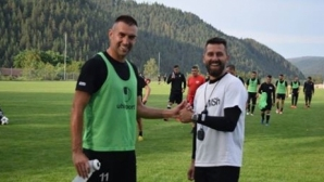 Камбуров отново хвана бас с треньор
