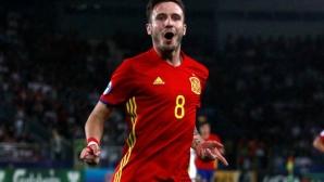Испания - Италия 0:0, гледайте тук
