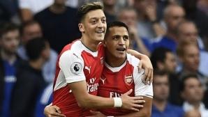 Арсенал предложи 20% увеличение на заплатите на Санчес и Йозил, но при определено условие