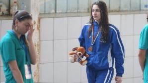 Диана Петкова първа резерва за полуфиналите на 100 метра свободен стил на Европейското