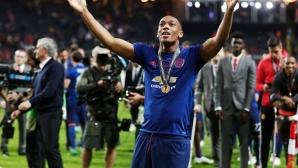 Марсиал опроверга твърденията, че ще напусне Юнайтед