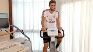 Борини преминава медицински тестове в Милано