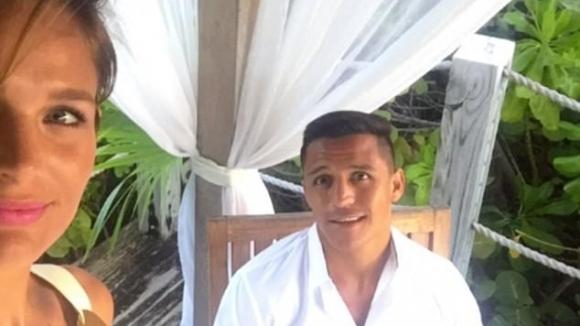 Алексис Санчес се наслаждава на дълго чаканата ваканция