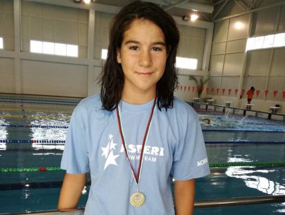 Гергана Стоянова подобри два национални рекорда