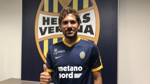 Официално: Верона взе бивш играч на Рома, Милан и Атлетико Мадрид