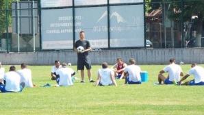 Отборът на Топчо удари елитен македонски тим