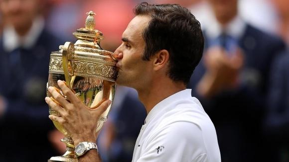 """Федерер се напил като казак след титлата в """"Уимбълдън"""""""