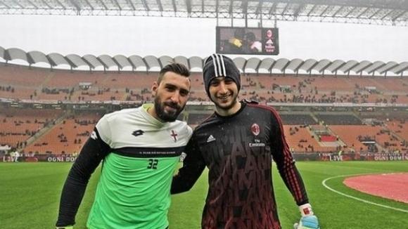 Антонио Донарума: Не съм в Милан заради Джиджо