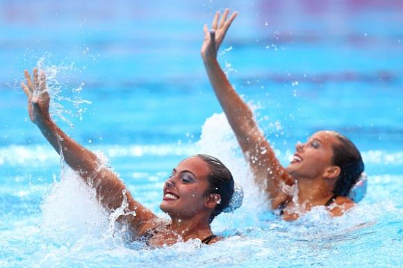 България с 36-о място при дуетите в синхронното плуване на световното