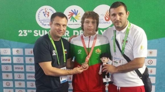 Първи медал за България от Олимпиадата за глухи в Турция