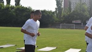 Симеон Райков започна тренировки в Локо (Пд)