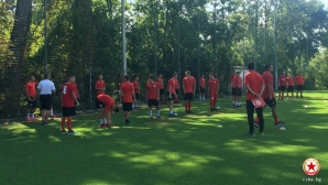 Юноши на ЦСКА-София започнаха подготовка с албански национал