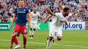 ЦСКА се провали в дербито с Локо в дебюта за сезона на Жоро Миланов