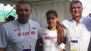 Начева с нов национален рекорд, но 4 см не ѝ стигнаха за европейски бронз