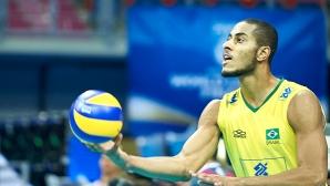 Една от звездите на Бразилия: България е мощен отбор с качествени играчи