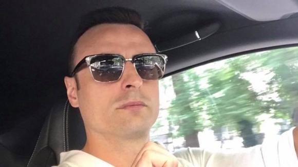 Димитър Бербатов реши да се пошегува в съботния следобед. Голмайстор