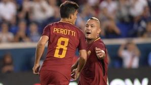 Рома срази Тотнъм в късен трилър (видео)