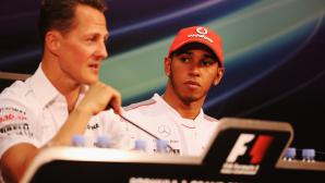 Хамилтън напът да подобри рекорд на Шумахер
