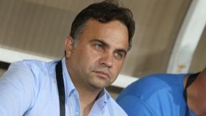 Изповедта на Митов: Ще приема всяко едно решение, което е в интерес на Левски
