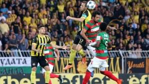 """Ботев (Пловдив) - Маритимо 0:0, страхотна атмосфера на """"Лазур"""""""