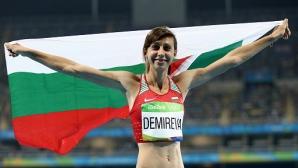 Мирела Демирева все пак ще участва на световното в Лондон