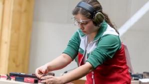 Европейска титла за Мирослава Минчева на 25 метра спортен пистолет за девойки