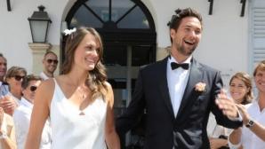 Волейболна сватба разбуди Лазурния бряг (снимки)