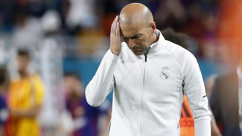Снимка: Мадрид и Зидан имат пет спешни проблема за решаване